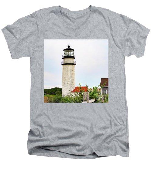 Highland Lighthouse II Men's V-Neck T-Shirt