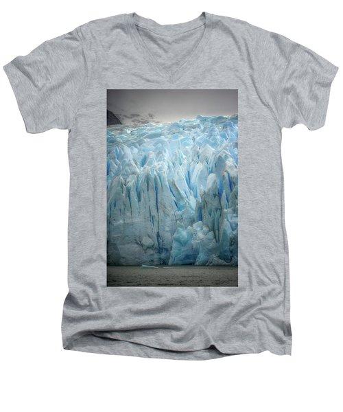 Highlighter Ice Men's V-Neck T-Shirt