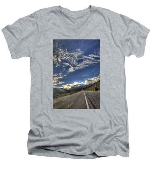 Highway 157 Men's V-Neck T-Shirt