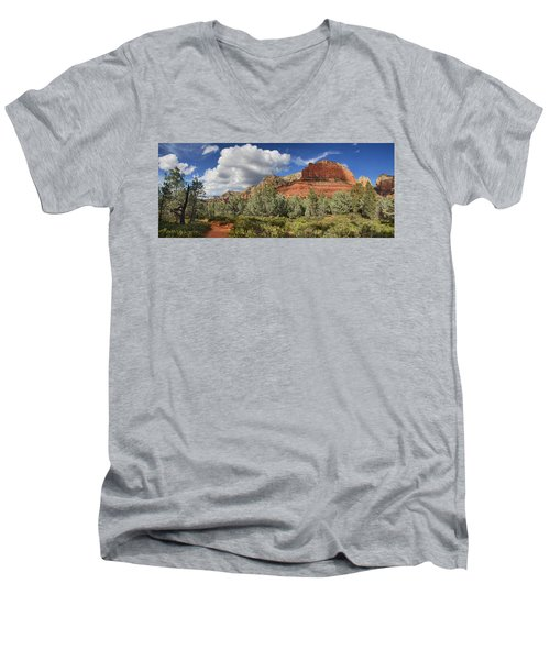 Hiker's Paradise Men's V-Neck T-Shirt