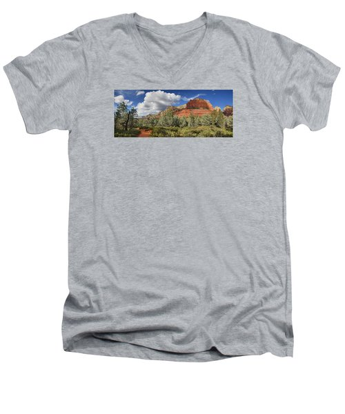 Hiker's Paradise Men's V-Neck T-Shirt