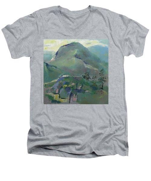 Hiking Men's V-Neck T-Shirt