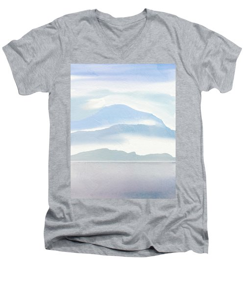 Hills In Borneo Men's V-Neck T-Shirt