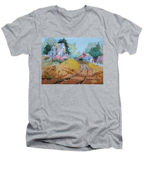 Hilltop Homestead Men's V-Neck T-Shirt