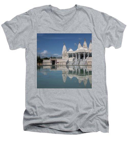 Hindu Temple Men's V-Neck T-Shirt