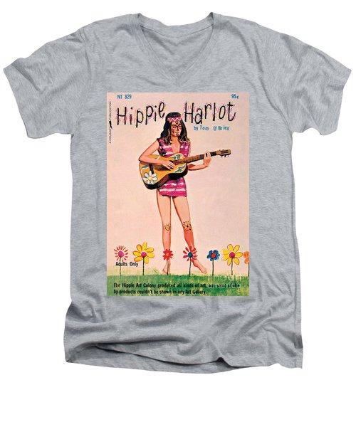 Hippie Harlot Men's V-Neck T-Shirt