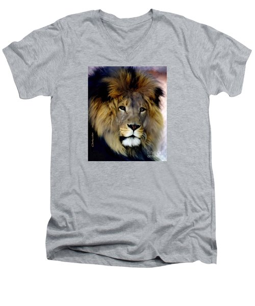 His Majesty The King Men's V-Neck T-Shirt