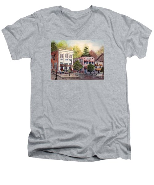 Historic Blue Ridge Shops Men's V-Neck T-Shirt