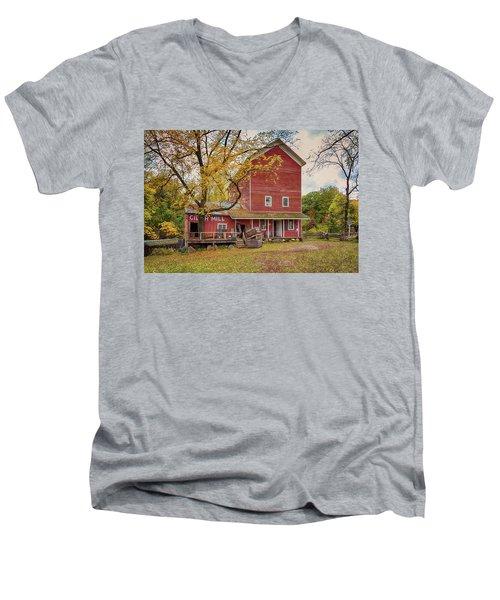 Historic Bowens Mills Men's V-Neck T-Shirt