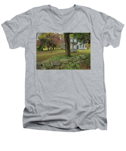 Historic Homestead Men's V-Neck T-Shirt