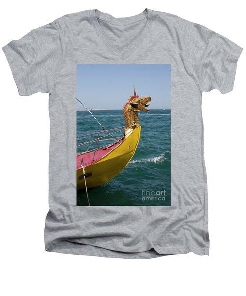 Historical Yacht Men's V-Neck T-Shirt