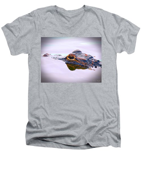 Hitchin A Ride Men's V-Neck T-Shirt