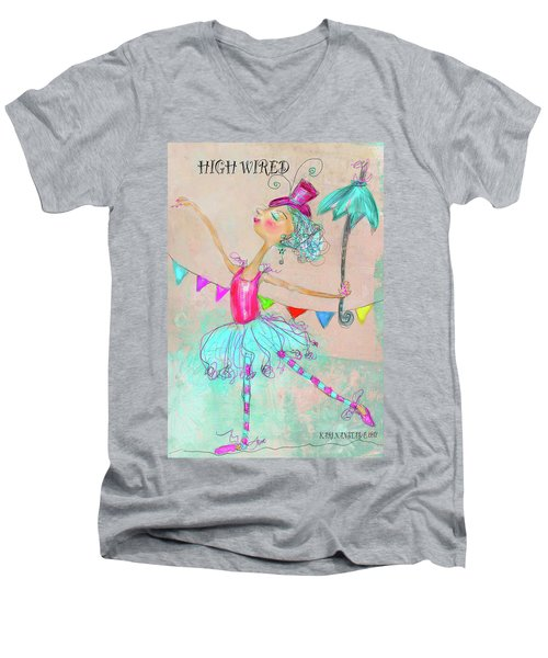 Hiwired Men's V-Neck T-Shirt