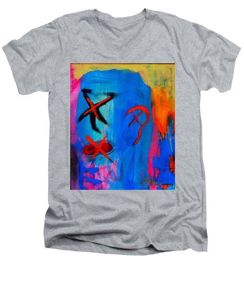 H.n.e, S.n.e. ,s.n.e Men's V-Neck T-Shirt