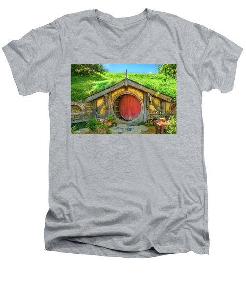 Hobbit House Men's V-Neck T-Shirt