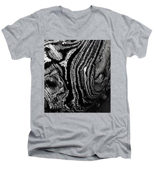 Hog Fish Float Three Men's V-Neck T-Shirt by Expressionistart studio Priscilla Batzell