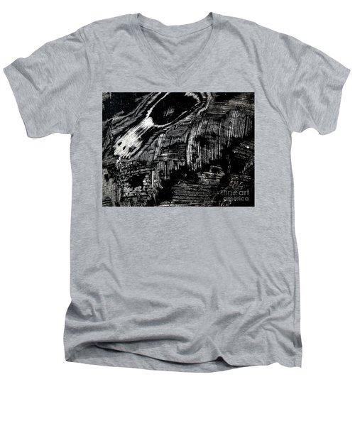 Hog Fish Two Men's V-Neck T-Shirt by Expressionistart studio Priscilla Batzell