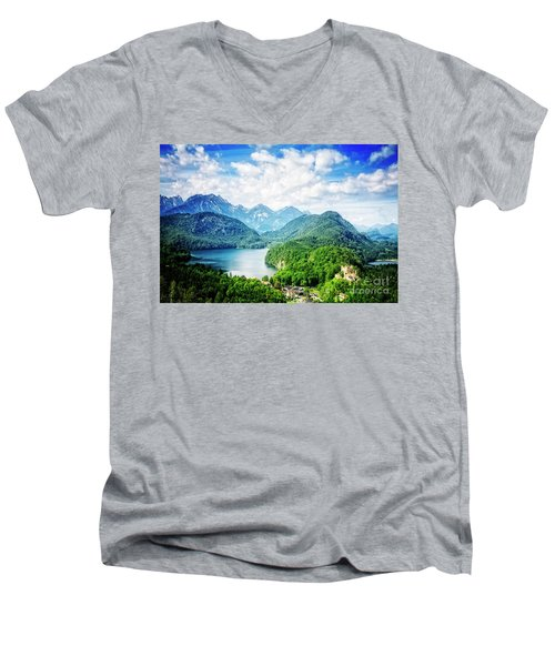 Hohenschwangau Men's V-Neck T-Shirt