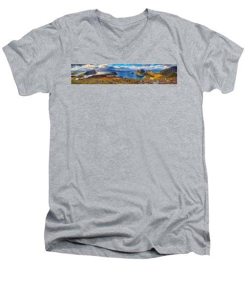 Holandsmelen Panorama Men's V-Neck T-Shirt
