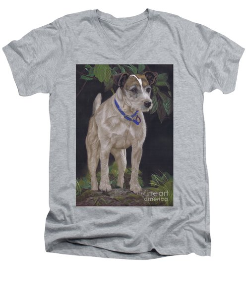 Holly Men's V-Neck T-Shirt