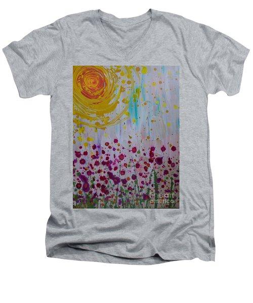Hollynation Men's V-Neck T-Shirt