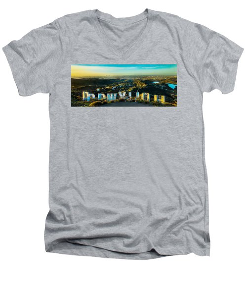 Hollywood Dreaming Men's V-Neck T-Shirt