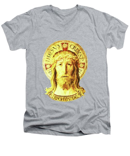 Holy Face Men's V-Neck T-Shirt