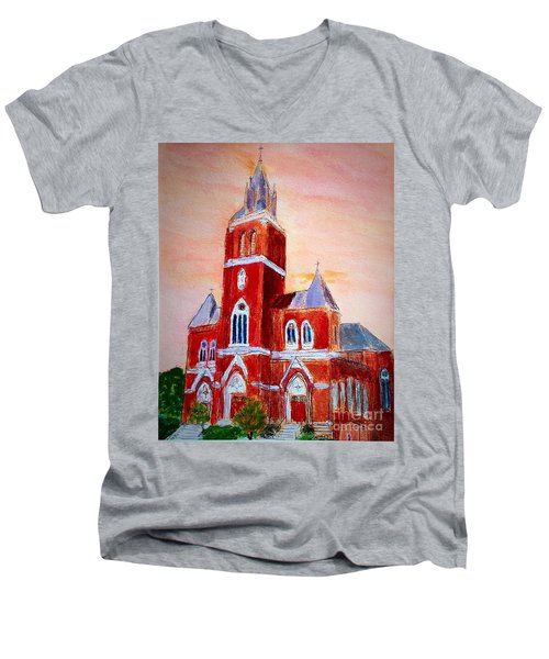 Holy Family Church Men's V-Neck T-Shirt