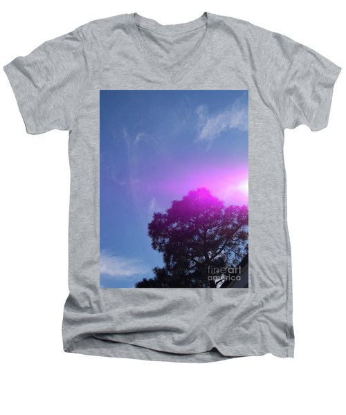 Holy Spirit- Yes We Believe Men's V-Neck T-Shirt