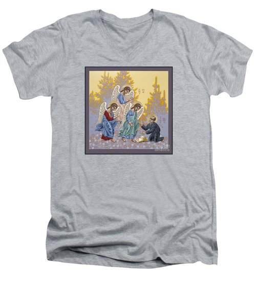 Holy Theologian Bernard Lonergan 122 Men's V-Neck T-Shirt