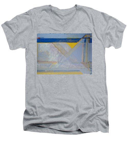 Homage To Richard Diebenkorn's Ocean Park Series  Men's V-Neck T-Shirt