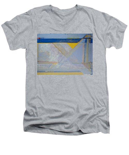 Homage To Richard Diebenkorn's Ocean Park Series  Men's V-Neck T-Shirt