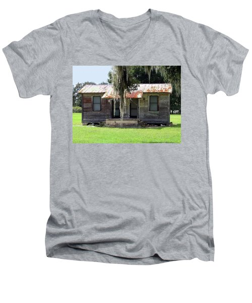 Home And Alone Men's V-Neck T-Shirt