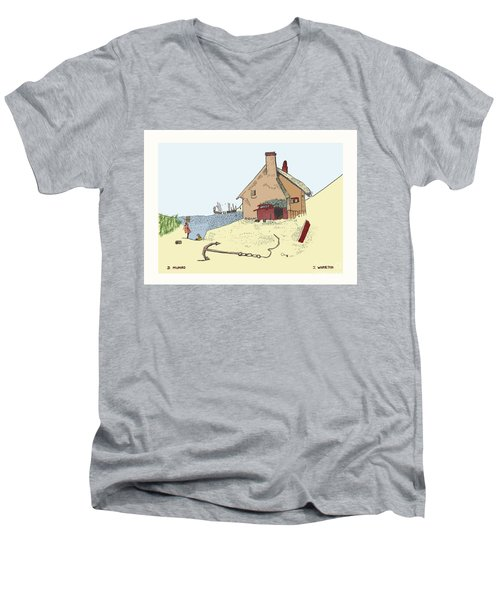 Home By The Sea Men's V-Neck T-Shirt