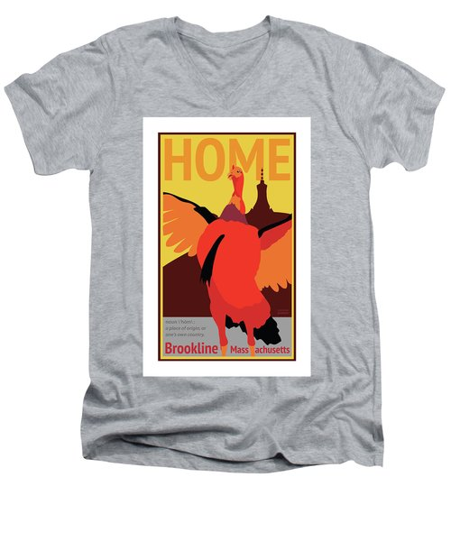 Home Men's V-Neck T-Shirt