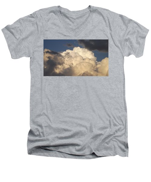 Home Of The Gods Men's V-Neck T-Shirt by Don Koester
