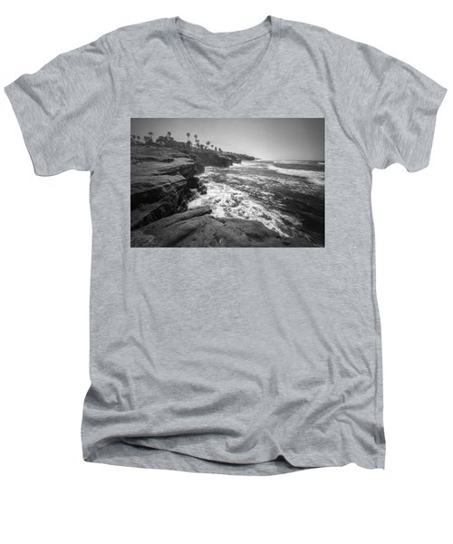 Home Men's V-Neck T-Shirt by Ryan Weddle