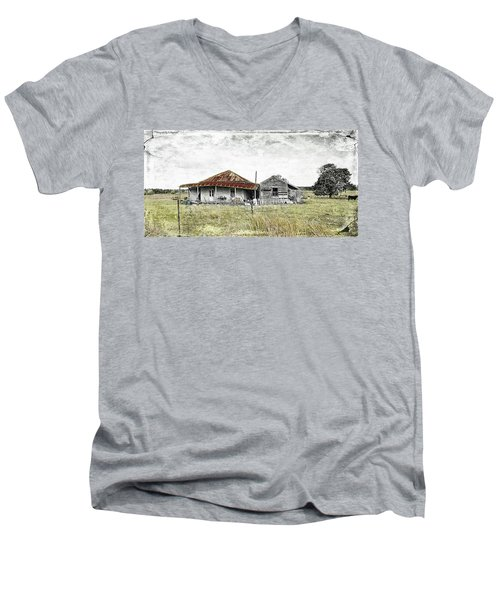 Home Sweet Home 001 Men's V-Neck T-Shirt by Kevin Chippindall