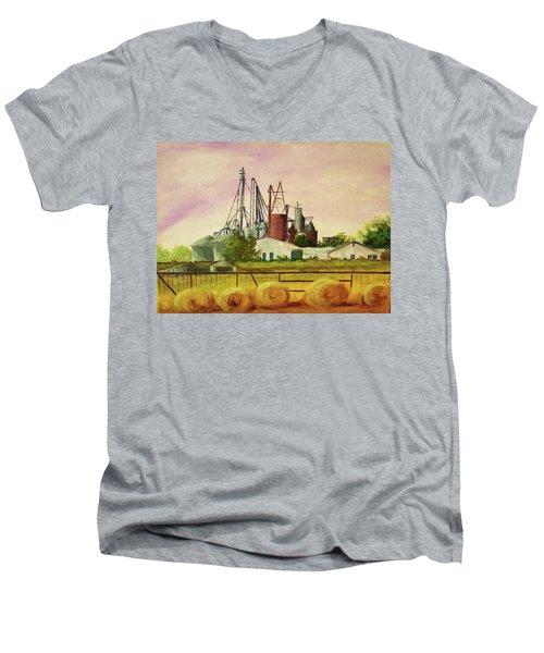 Home Town Men's V-Neck T-Shirt