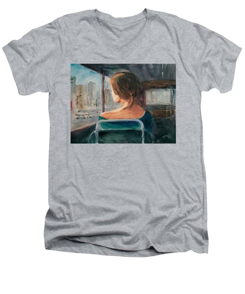 Homecoming... Men's V-Neck T-Shirt