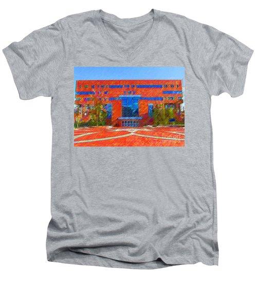 Homer Library Men's V-Neck T-Shirt