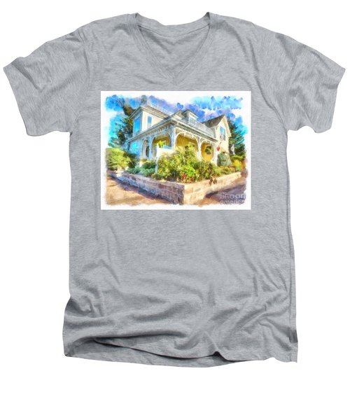 Home,sweet Home Men's V-Neck T-Shirt