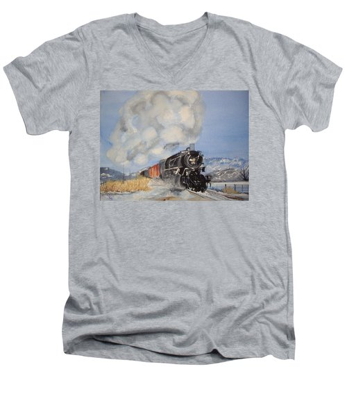 Homeward Bound Men's V-Neck T-Shirt