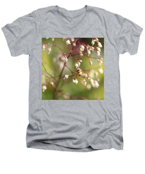 Honey Acrobat Men's V-Neck T-Shirt
