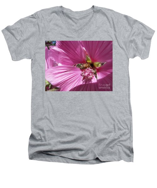 Honey Bee Men's V-Neck T-Shirt