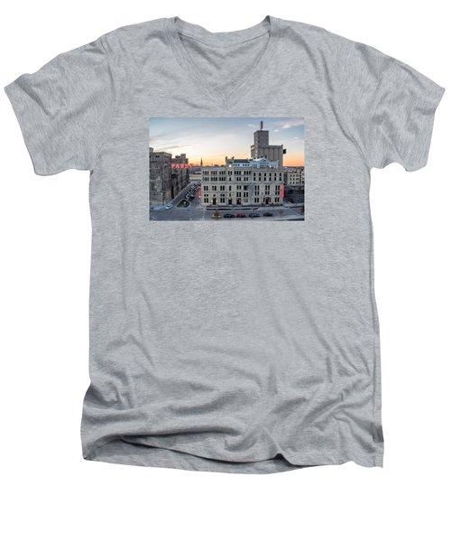 Honey I Shrunk The Brewery Men's V-Neck T-Shirt