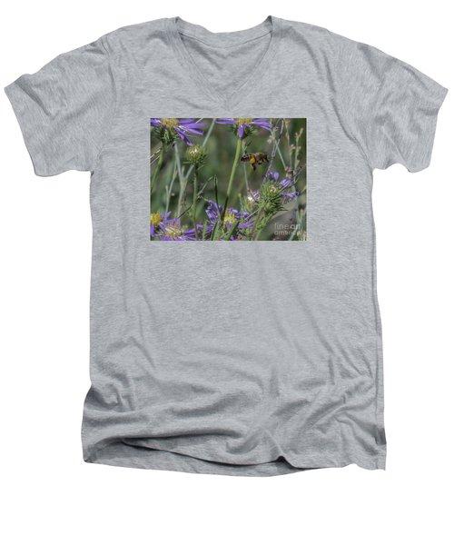 Honeybee 2 Men's V-Neck T-Shirt
