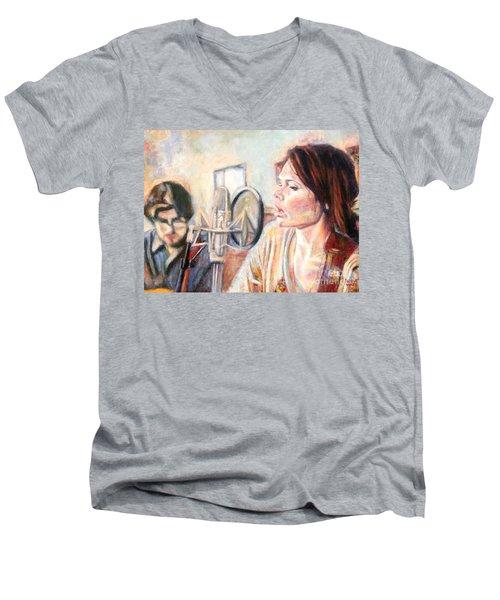 Honeyhoney Band Men's V-Neck T-Shirt