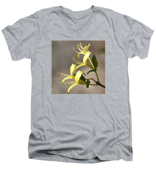 Honeysuckle  Men's V-Neck T-Shirt