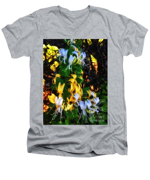 Honeysuckle Sweet Men's V-Neck T-Shirt